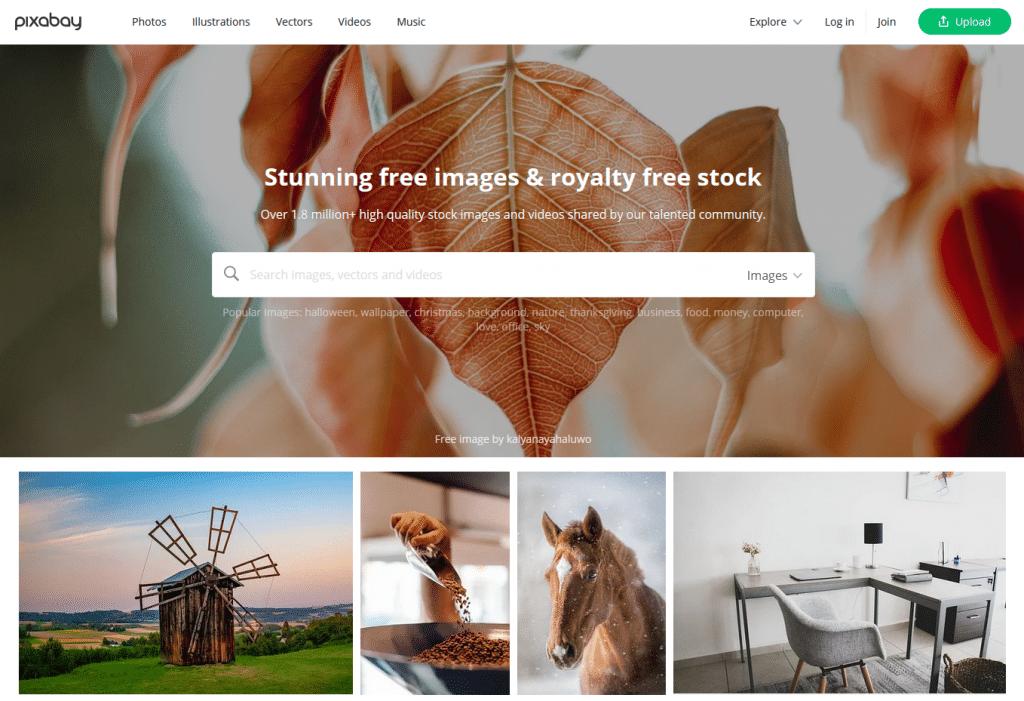 pixabay home - The Builder Hero