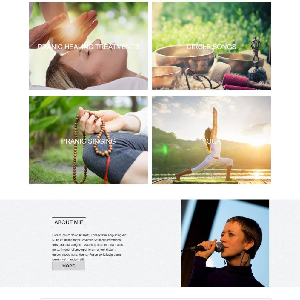 Prana&Mie Website